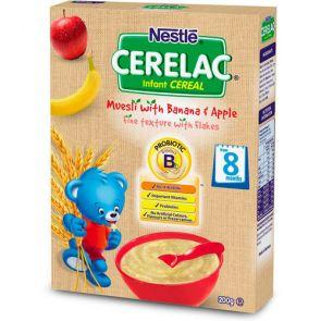 Nestle Cerelac Muesli With Banana & Apple 8+ 111G
