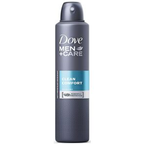 Dove Men Antiperspirant Spray Clean Comfort 150G