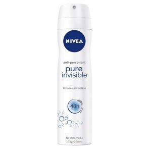 Nivea Invisible Anti-Perspirant Spray 250Ml