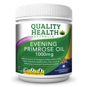 Quality Health Evening Primrose Oil Capsules 200