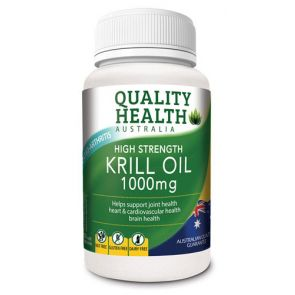 Quality Health High Strength Krill Oil Capsules 1000Mg 60