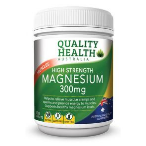 Quality Health High Strength Magnesium Tablets 100