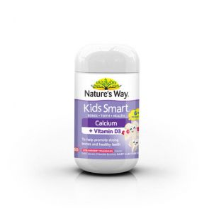 Nature'S Way Kids Smart Vita Gummies Kids Calcium Pastilles 60