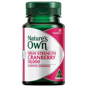 Nature'S Own Cranberry Capsules 50000Mg 30