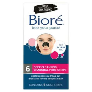 Biore Charocoal Deep Cleansing Pore Strips