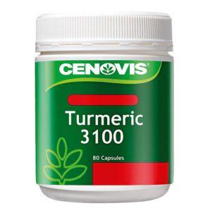 Cenovis Turmeric Capsules 3100Mg 80