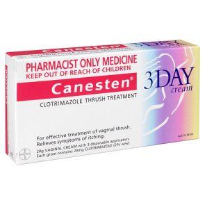 Canesten 3 Day Cream 20G