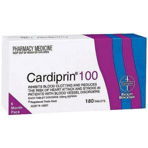 Cardiprin Tablets 100Mg 180
