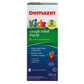 Demazin Kids 2 Years + Cough Relief Liquid 200Ml