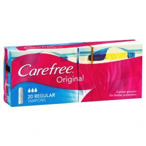 Carefree Tampons Regular 20