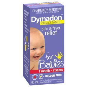 Dymadon 1 Month - 2 Years Strawberry 60Ml