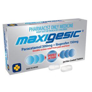 Maxigesic Tablets 24