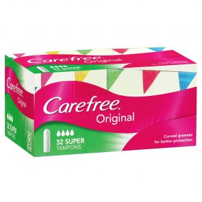 Carefree Tampons Super 32