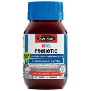 Swisse Kids Probiotic Chewable Tablets 40