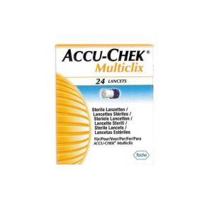 Accu-Chek Multiclix Lancets 24