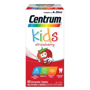 Centrum Kids Strawberry Chewable Tablets 60