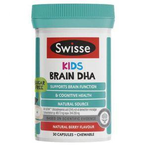 Swisse Kids Brain Dha Capsules 30