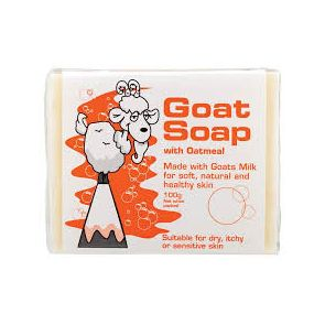 Goat Soap With Oatmeal 100G