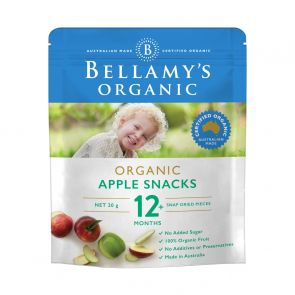 Bellamy's Apple Snacks 20g