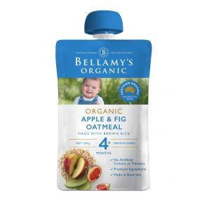 Bellamy's Apple, Fig & Oatmeal 120g
