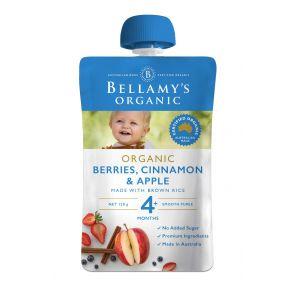 Bellamy's Berries, Cinnamon & Apple 120g