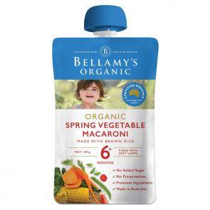 Bellamy's Spring Vegetable Macaroni 120g