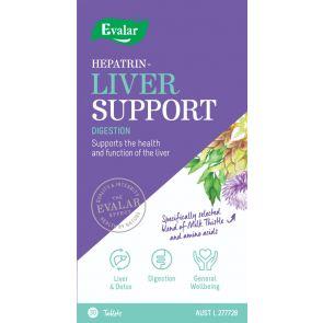Evalar Hepatrin Liver Support 30 Tablets