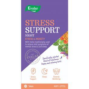 Evalar Stress Support Night 30 Tablets