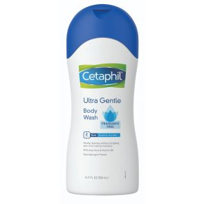 Cetaphil Ultra Gentle Body Wash Fragrance Free 500mL
