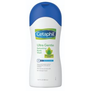 Cetaphil Ultra Gentle Body Wash Refreshing Scent 500mL