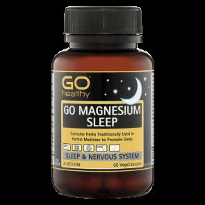 GO Healthy Magnesium Sleep 60 Vege Caps