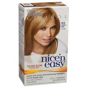 Clairol Nice N Easy Colour Blend 103 Light Beige Blonde