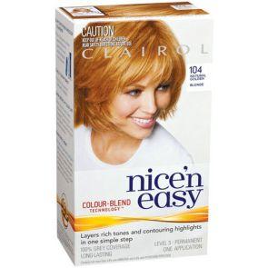 Clairol Nice N Easy Colour Blend 104 Golden Blonde