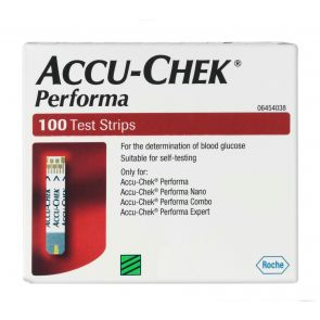 Accu-Chek Performa Blood Glucose Strips 100