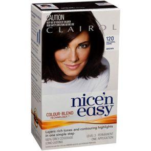 Clairol Nice N Easy Colour Blend 120 Dark Brown
