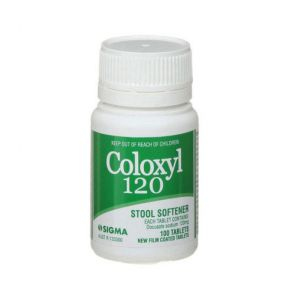 Coloxyl Film Coated Tablets 120Mg 100