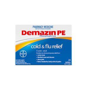 Demazin Cold & Flu Tablets 24