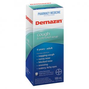 Demazin Phenylephrine Cough And Cold 100Ml