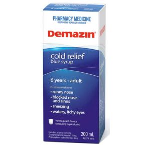 Demazin Phenylephrine Cough And Cold 200Ml
