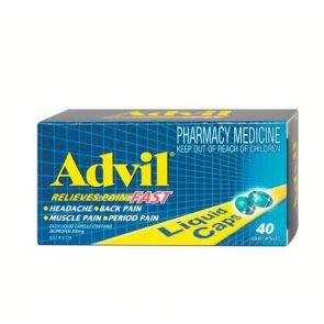 Advil Liquid Capsules 40