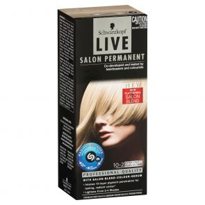 Schwarzkopf Live Salon Permanent 10.1 Extra Light Ash Blonde