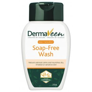 Dermaveen Daily Nourish Soap-Free Wash 250Ml
