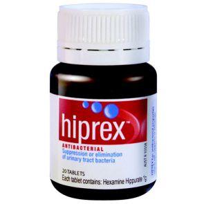 Hiprex Tablets 1G 20