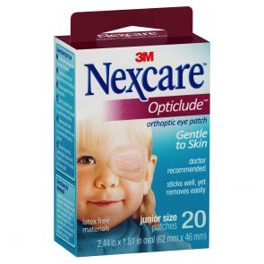 Nexcare Opticlude Orthoptic Eye Patch Junior