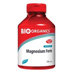 Bio Organics-8645 Magnesium Forte Tabs 100