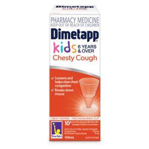 Dimetapp Chesty Cough Elixir 100Ml