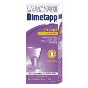 Dimetapp Cold & Allergy Liquid 100Ml