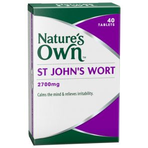 Nature'S Own St Johns Wart Tablets 2700Mg 40