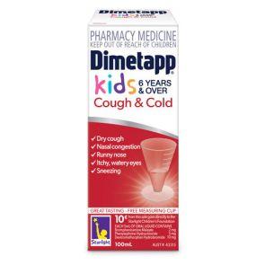 Dimetapp Cough & Cold Liquid 100Ml