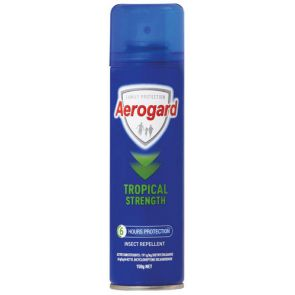 Aeroguard Tropical Strength Aerosol 150G